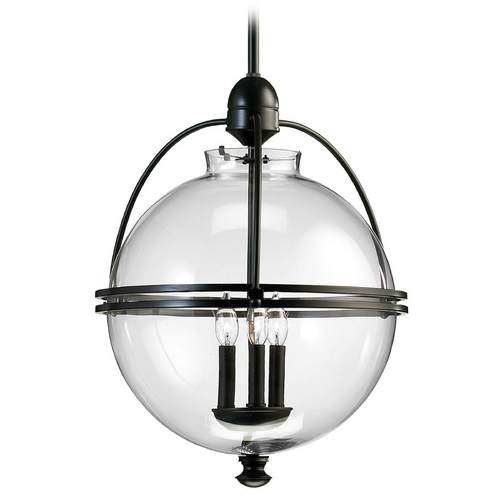 Cyan Design Cyan Design Old World Pendant Light with Globe Shade 01921