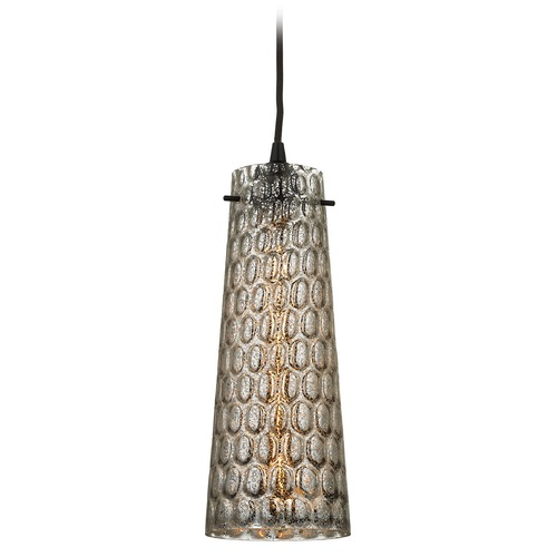 Elk Lighting Elk Lighting Jerard Oil Rubbed Bronze Mini-Pendant Light with Conical Shade 10248/1