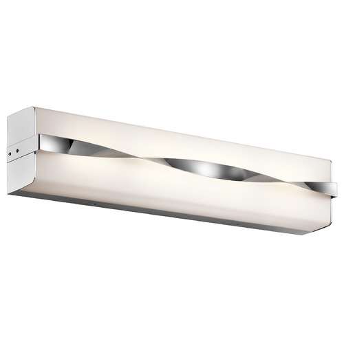 Kichler Lighting Kichler Lighting Tori Chrome LED Bathroom Light 45846CHLED
