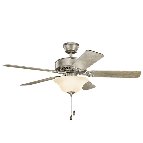 Kichler Lighting Kichler Lighting Renew Select Sterling Gold Ceiling Fan with Light 330110SGD