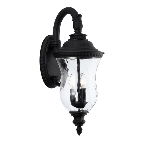 Capital Lighting Capital Lighting Ashford 3-Light Black Outdoor Wall Light 939831BK