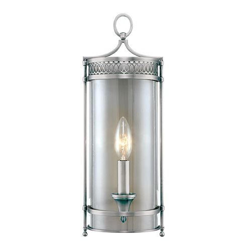 Hudson Valley Lighting Sconce Wall Light with Clear Glass in Polished Nickel Finish 8991-PN