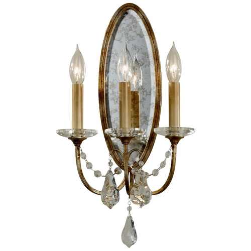 Feiss Lighting Sconce Wall Light in Oxidized Bronze Finish WB1543OBZ