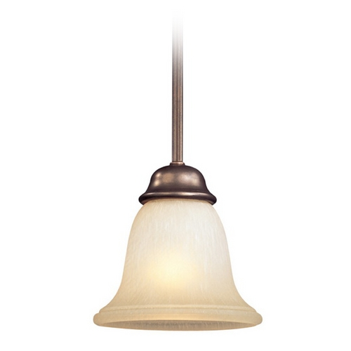 Dolan Designs Lighting Mini-Pendant with Eggshell Glass 1081-207