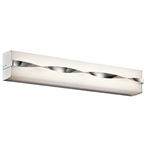 Kichler Lighting Kichler Lighting Tori Chrome LED Bathroom Light 45847CHLED