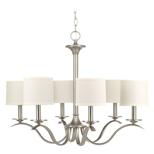 Progress Lighting Progress Lighting Inspire Brushed Nickel Chandelier P4739-09