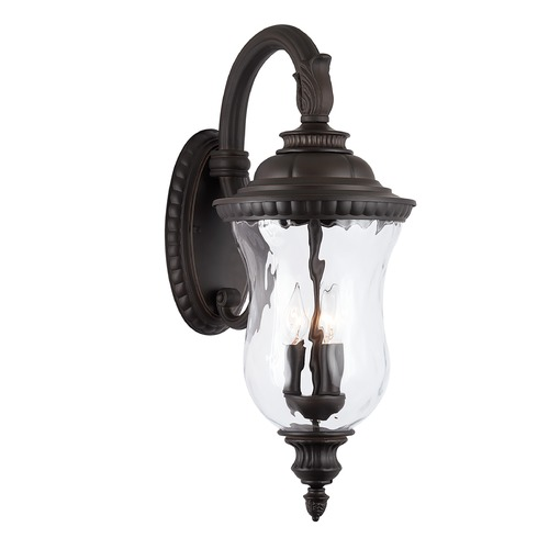 Capital Lighting Capital Lighting Ashford 3-Light Oiled Bronze Outdoor Wall Light 939831OZ