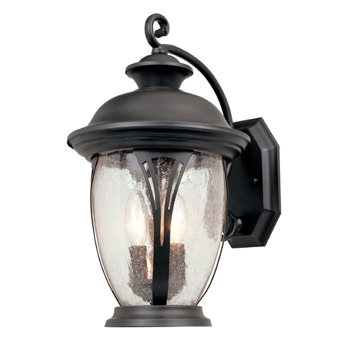 Designers Fountain Lighting Outdoor Wall Light with Clear Glass in Bronze Finish 30531-BZ