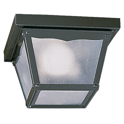 Quorum Lighting Quorum Lighting Gloss Black Close To Ceiling Light 3080-7-15