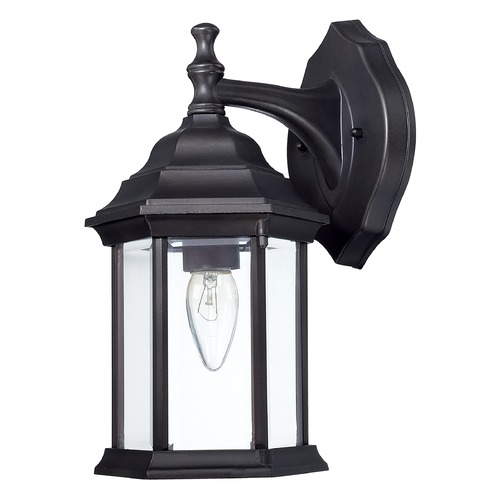 Capital Lighting Capital Lighting Black Outdoor Wall Light 9830BK
