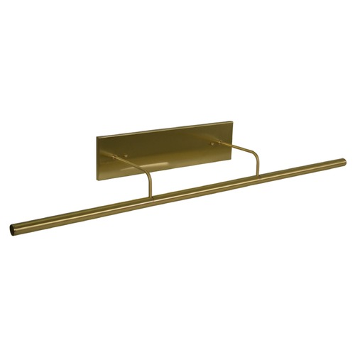 House of Troy Lighting House Of Troy Slim-Line Satin Brass LED Picture Light DSLEDZ43-51