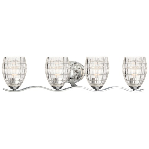 Minka Lavery Minka Austine Chrome Bathroom Light 3424-77