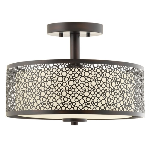 Progress Lighting Progress Lighting Mingle LED Antique Bronze LED Semi-Flushmount Light P2320-2030K9