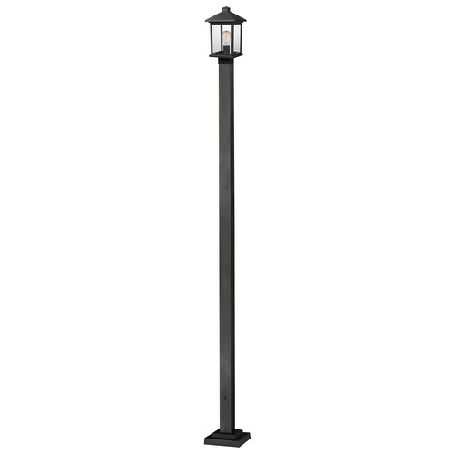 Z-Lite Z-Lite Portland Black Post Light 531PHMS-536P-BK