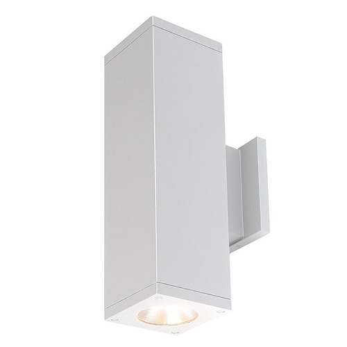 WAC Lighting Wac Lighting Cube Arch White LED Outdoor Wall Light DC-WD06-F840S-WT