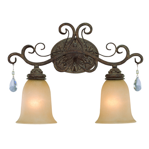 Jeremiah Lighting Jeremiah Englewood French Roast Bathroom Light 25602-FR