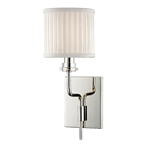 Hudson Valley Lighting Hudson Valley Lighting Gorham Polished Nickel Sconce 3351-PN