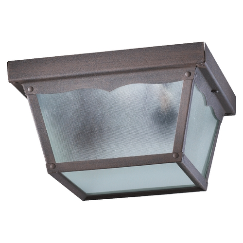 Quorum Lighting Quorum Lighting Rust Close To Ceiling Light 3080-9-5