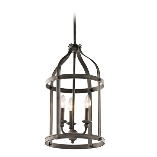 Kichler Lighting Kichler Lighting Steeplechase Olde Bronze Pendant Light 43106OZ