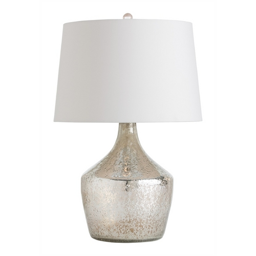 Arteriors Home Lighting Arteriors Home Lighting Jessa Mercury Luster Table Lamp with Drum Shade 46618-858