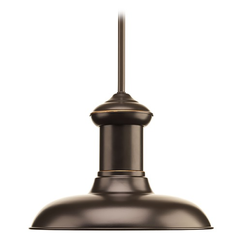 Progress Lighting Progress Lighting Brookside Antique Bronze LED Pendant Light with Bowl / Dome Shade P5024-2030K9