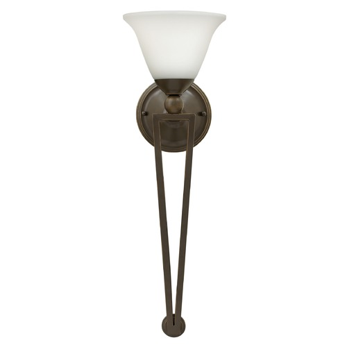 Hinkley Lighting Hinkley Lighting Bolla Olde Bronze Sconce 4671OB-OPAL