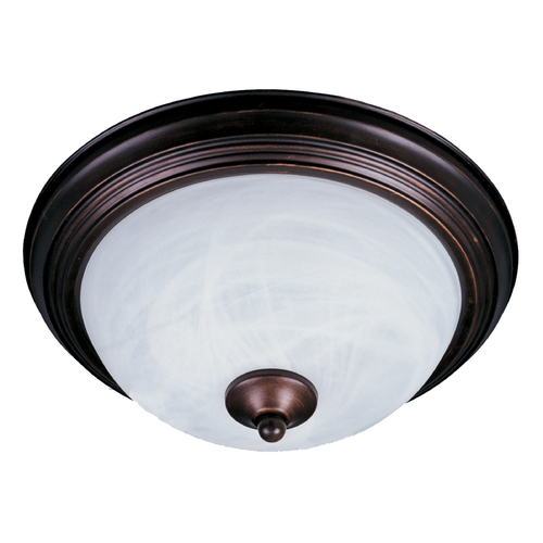 Maxim Lighting Maxim Lighting Essentials Oil Rubbed Bronze Flushmount Light 5840MROI