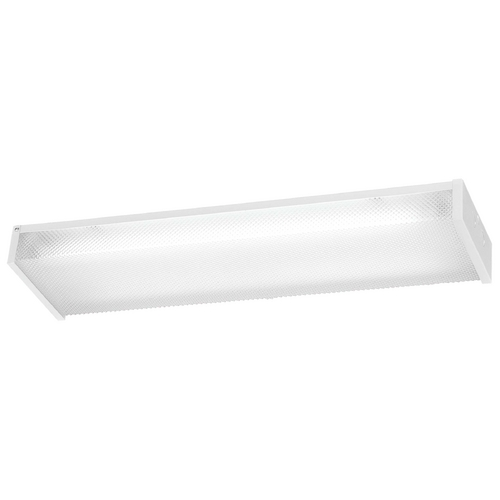 Minka Lavery Flushmount Light with Clear Glass in White Finish 1010-44-PL