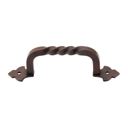 Top Knobs Hardware Cabinet Pull in Patina Rouge Finish M690
