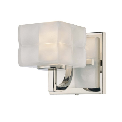 George Kovacs Lighting Single-Light Pillow Glass Sconce P5451-613