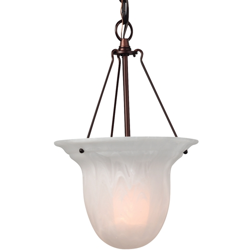 Dolan Designs Lighting Mini-Pendant with Alabaster Glass 661-30
