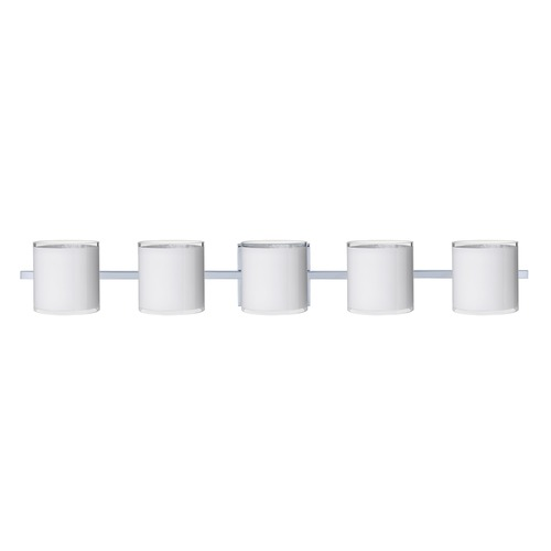 Besa Lighting Besa Lighting Pogo Chrome Bathroom Light 5WS-7180SF-CR