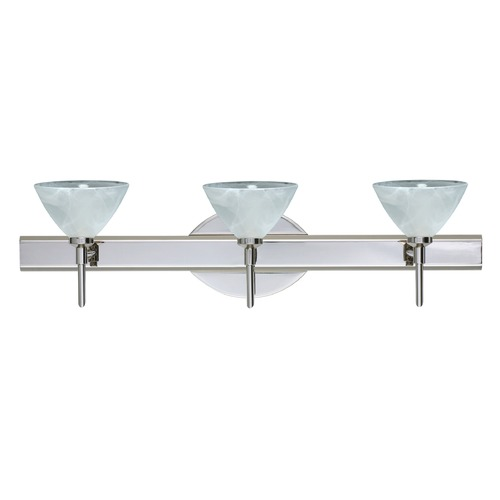 Besa Lighting Besa Lighting Domi Chrome Bathroom Light 3SW-174352-CR