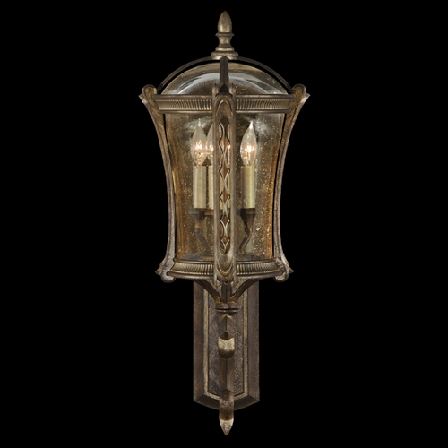 Fine Art Lamps Fine Art Lamps Gramercy Park Aged Antique Gold Outdoor Wall Light 572181ST