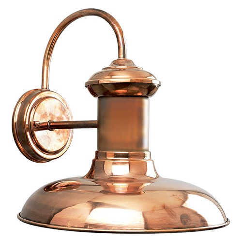 Progress Lighting Progress Lighting Brookside Solid Copper LED Outdoor Wall Light P5723-1430K9