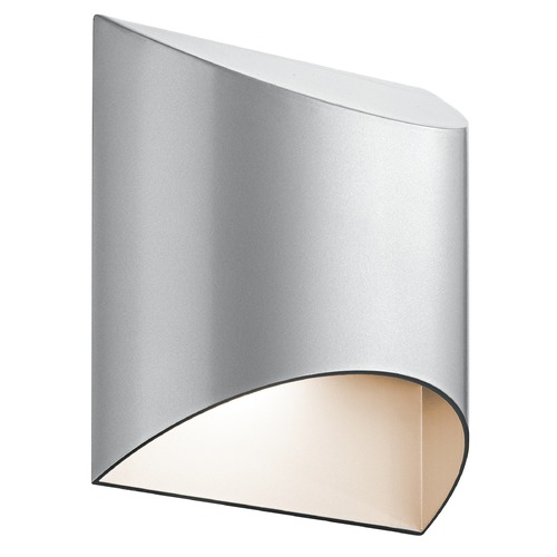 Kichler Lighting Kichler Lighting Wesly Platinum LED Outdoor Wall Light 49278PLLED