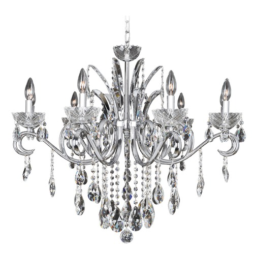 Allegri Lighting Allegri Catalani 9-Light Crystal Chandelier in Chrome 023852-010-FR001