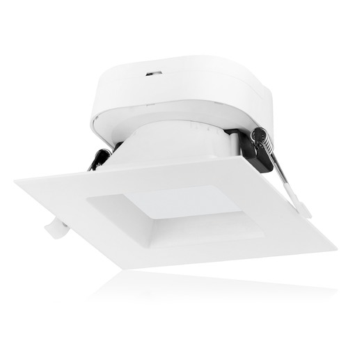 Satco Lighting Satco 7 Watt LED Direct Wire Downlight 4-inch 3000K 120V Dimmable Square S11701