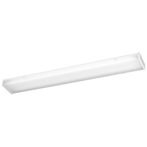 Minka Lavery Flushmount Light with Clear Glass in White Finish 1011-44-PL