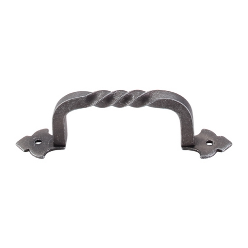 Top Knobs Hardware Cabinet Pull in Pewter Finish M691