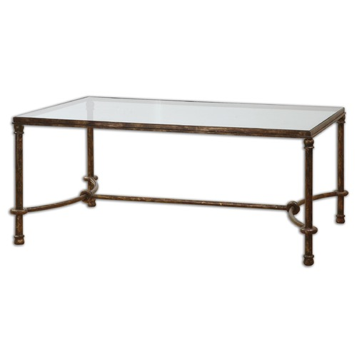 Uttermost Lighting Uttermost Warring Iron Coffee Table 24333