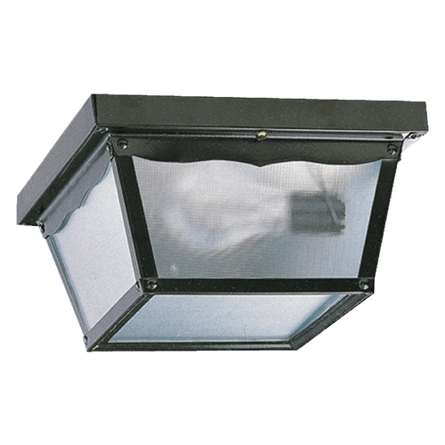 Quorum Lighting Quorum Lighting Gloss Black Close To Ceiling Light 3080-9-15