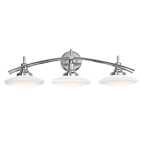 Kichler Lighting Kichler Lighting Structures Chrome Bathroom Light 6463CH