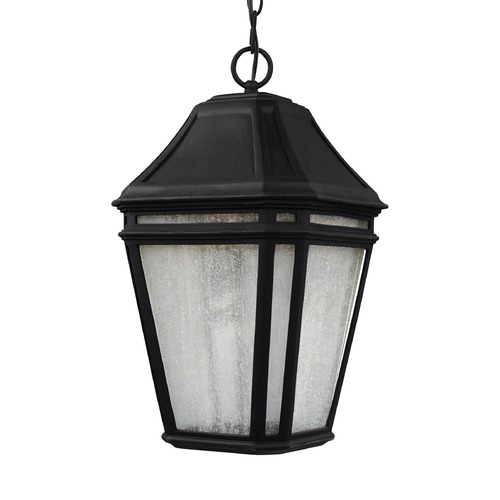 Feiss Lighting Feiss Lighting Londontowne Black LED Outdoor Hanging Light OL11311BK-LED