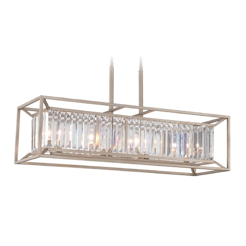 Designers Fountain Lighting Designers Fountain Linares Aged Platinum Island Light 87438-AP