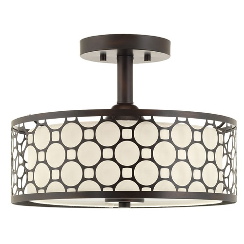 Progress Lighting Progress Lighting Mingle LED Antique Bronze LED Semi-Flushmount Light P2329-2030K9