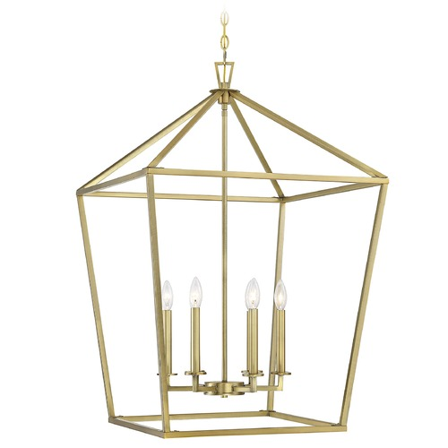 Savoy House Savoy House Lighting Townsend Warm Brass Pendant Light 3-322-6-322