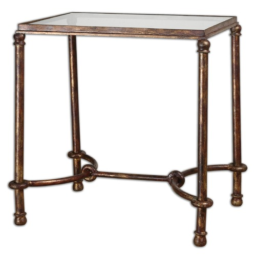 Uttermost Lighting Uttermost Warring Iron End Table 24334