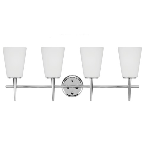 Sea Gull Lighting Sea Gull Lighting Driscoll Chrome Bathroom Light 4440404BLE-05
