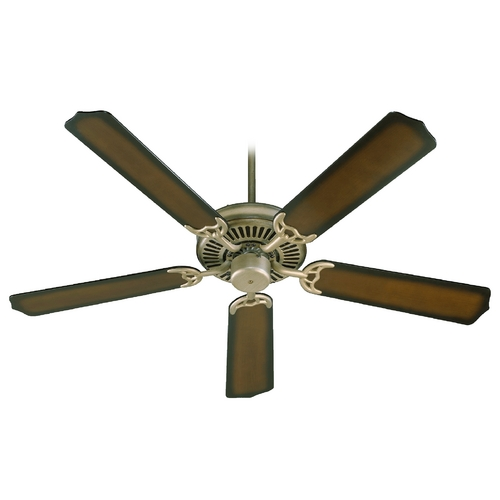 Quorum Lighting Quorum Lighting Capri I Antique Flemish Ceiling Fan Without Light 77525-22